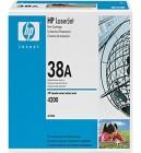 HP Q1338A black toner ORIGINAL - HP 38A Black Toner Original