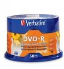 Verbatim DVD-R 50 Pack 4 Point 7Gb 120 Min
