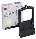 OKI Black Printer Ribbon for 520B  Printer