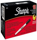 Sharpie Markers Black 12 Pack