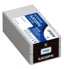 Epson SJIC22P K black ink cartridge original