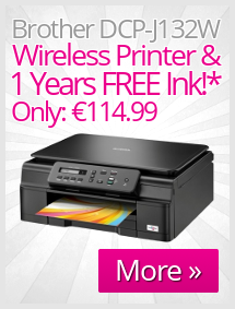 Brother DCP-J132W Inkjet Wireless Printer Offer