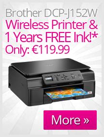 Brother DCP-J152W Inkjet Wireless Printer Offer