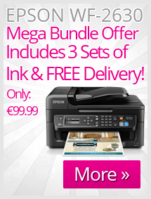 Epson WorkForce WF-2630 Mega Bundle Offer