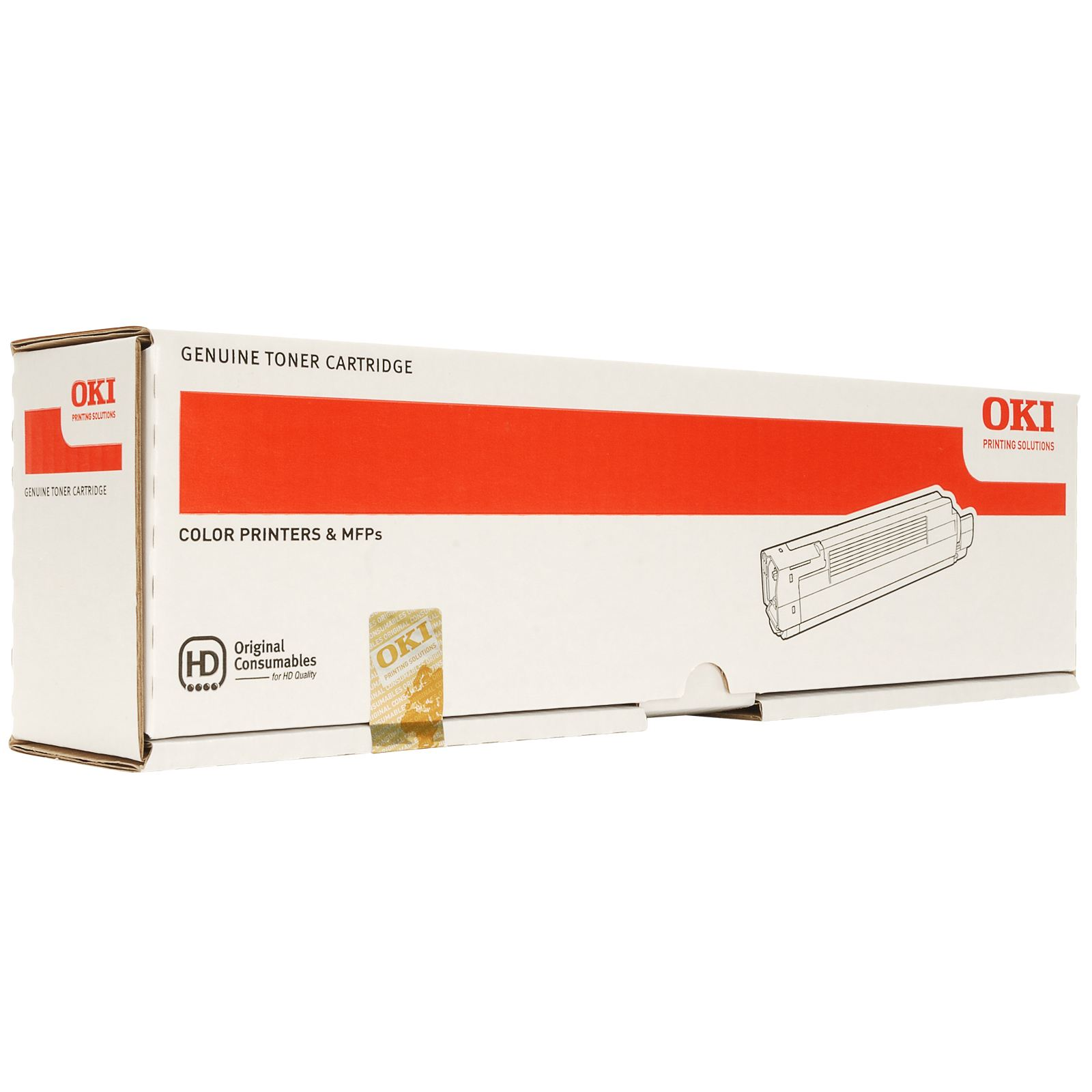 Oki 44059105 Yellow Toner Original