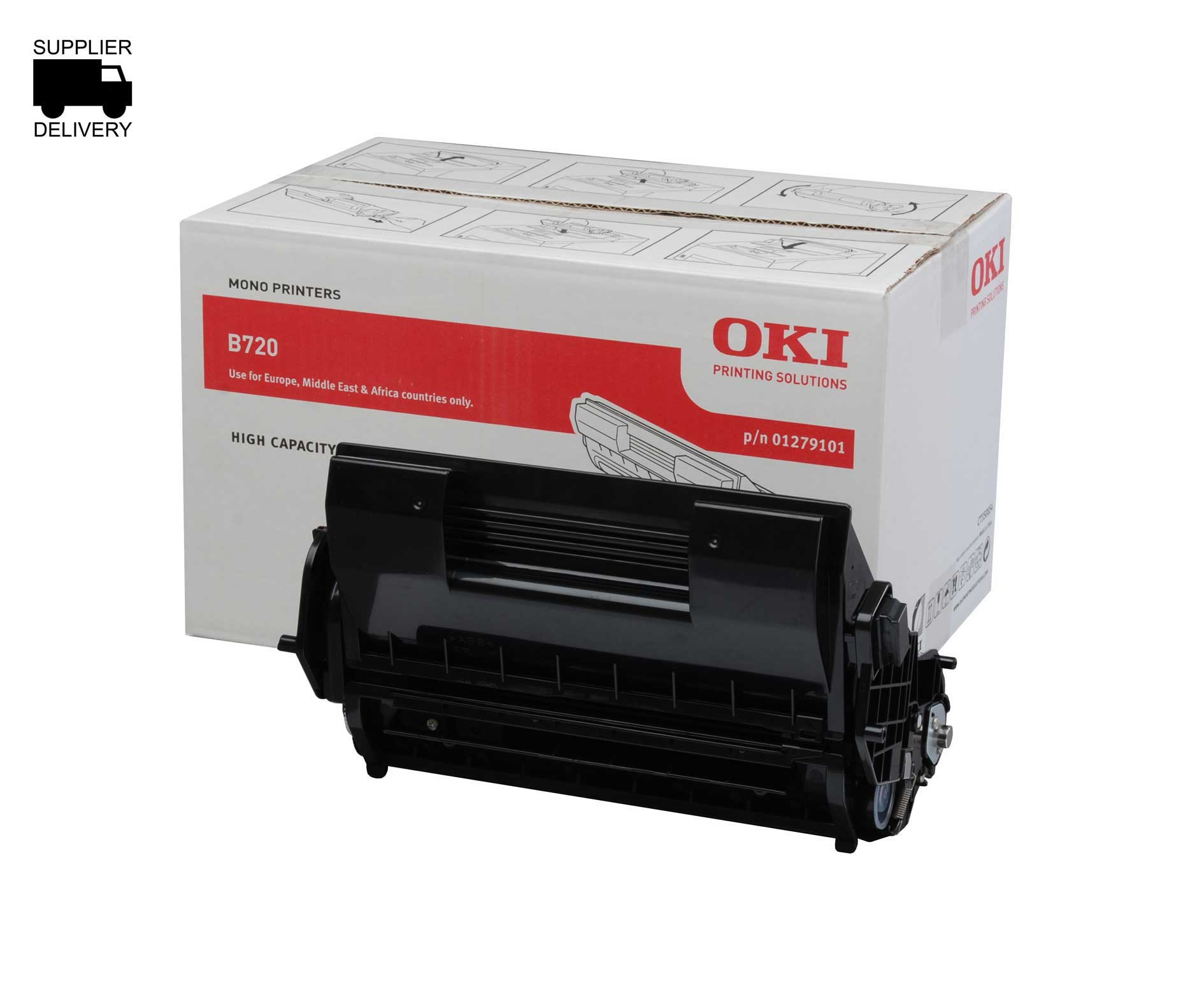OKI 01279101 black toner original