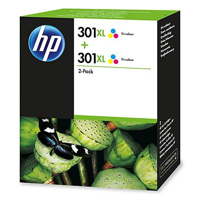 Hp 301XL Twin Pack Colour Original