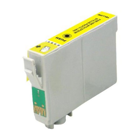 Compatible For Epson T0324 Yellow Ink Cartridge Chipped