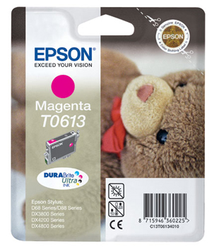 Epson 613 Magenta Ink Cartridge Original
