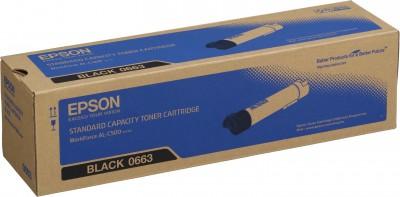 Epson S050663 black toner ORIGINAL