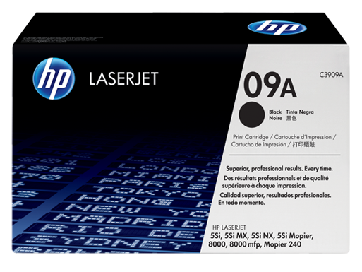 HP 09A black toner ORIGINAL - Hp C3909A Original