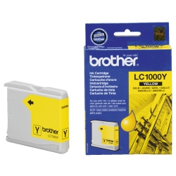Brother LC-1000 Yellow Ink Cartridge Original