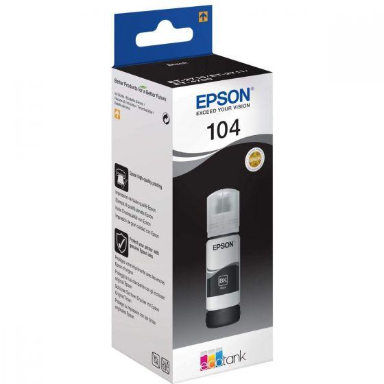 Epson 104 black ink tank original