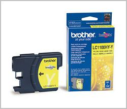 Brother LC-1100 yellow Ink Cartridge Original