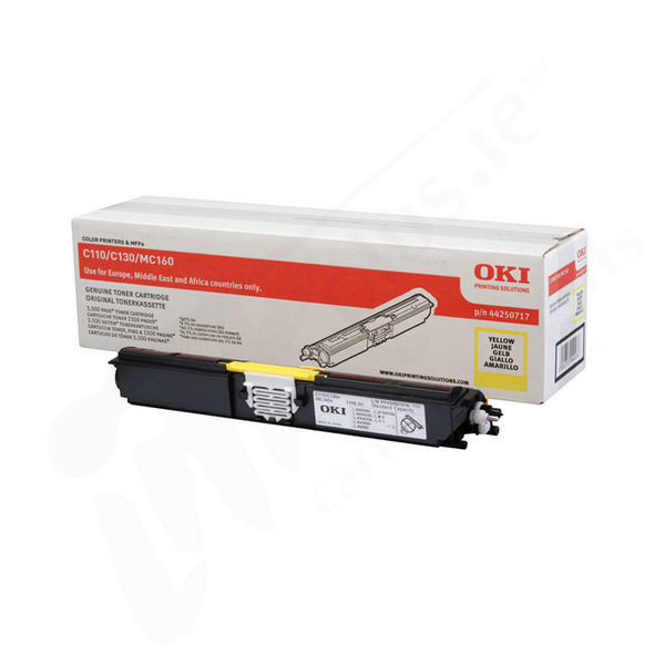 OKI 44250717 yellow toner original