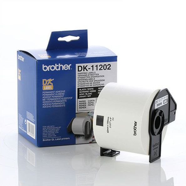 Brother DK11202 shipping label original Brother