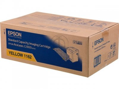 Original Epson c2800 Yellow Toner- Epson 1162 Yellow Toner