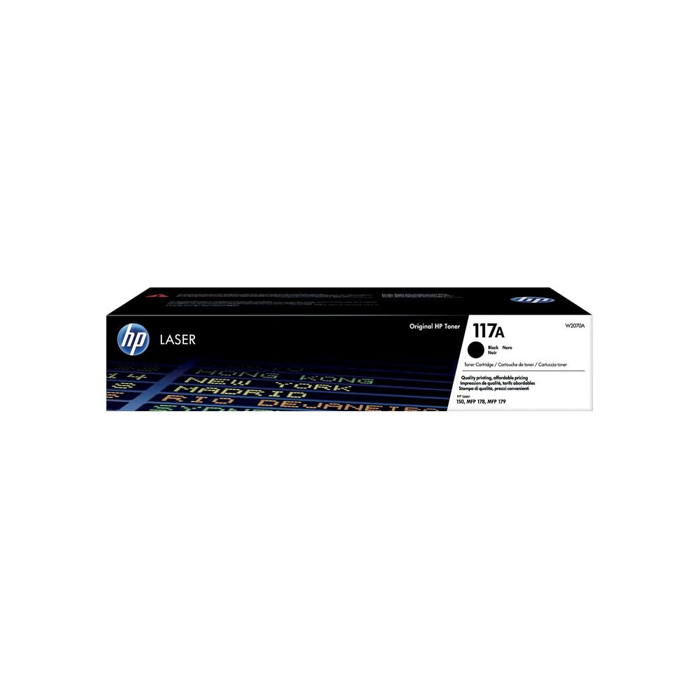 HP 117A black toner original