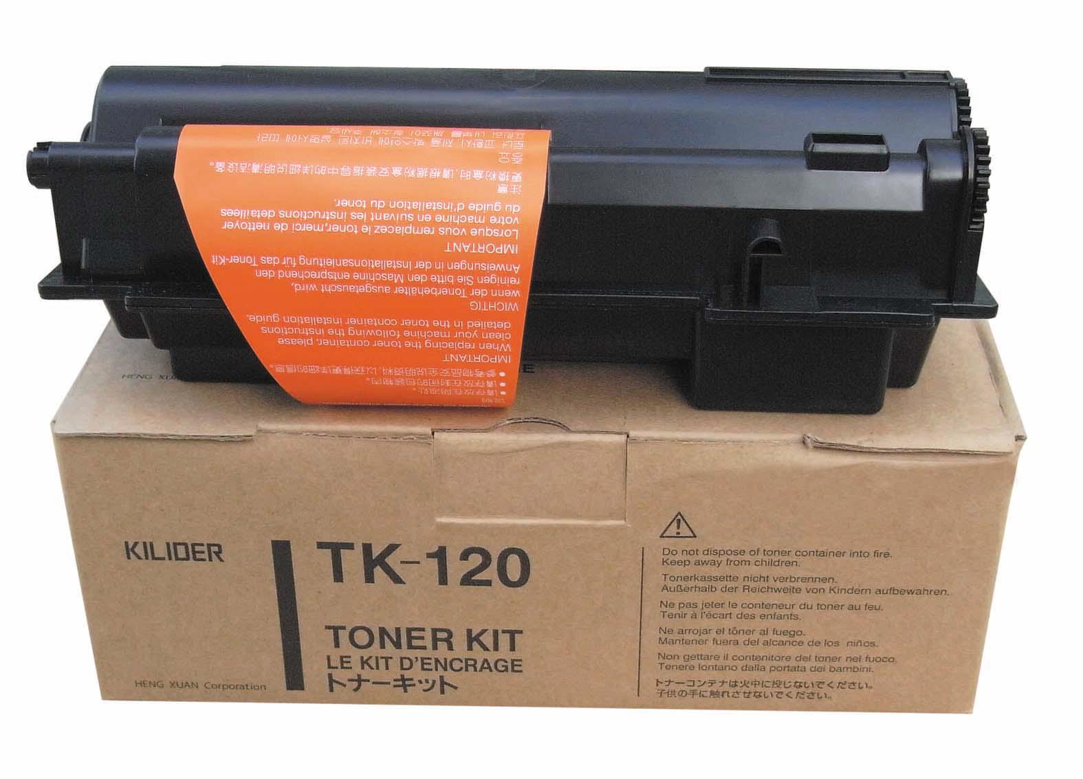 Kyocera TK-120 black toner original