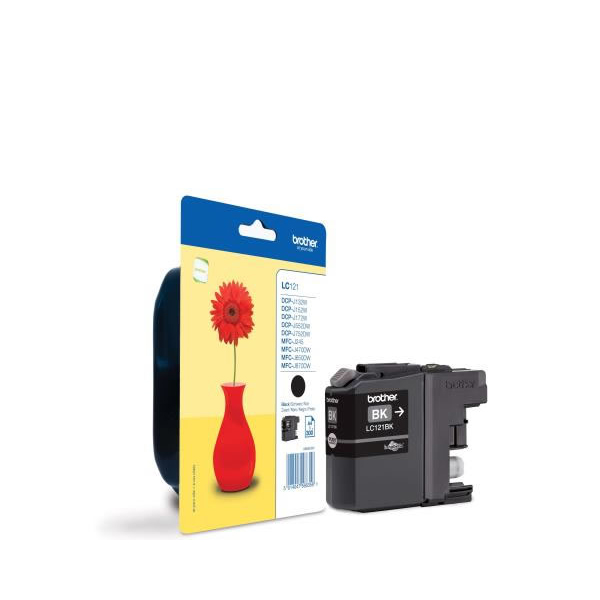Brother LC121BK black ink cartridge original
