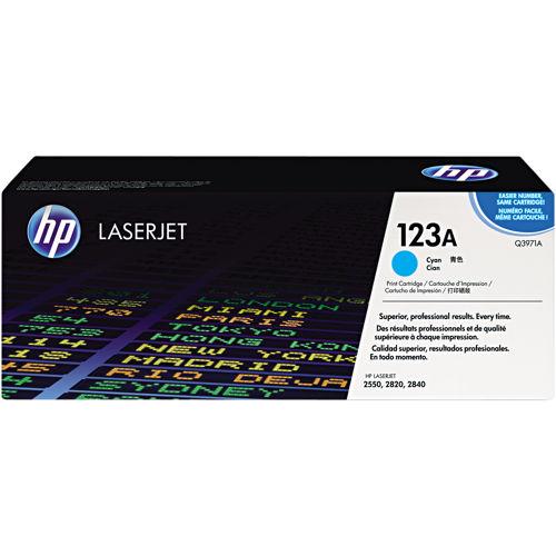 HP Q3971A cyan toner ORIGINAL - HP 123A Cyan Toner original