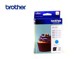 Brother LC-125XLC high-cap cyan ink cartridge ORIGINAL