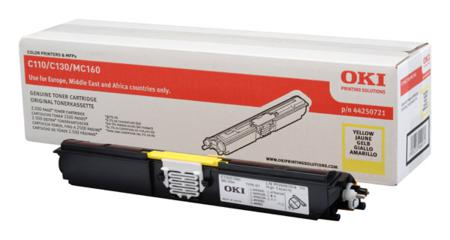 OKI 44250721 yellow high-cap toner original