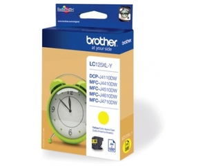 Brother LC-125XLY high-cap yellow ink cartridge ORIGINAL