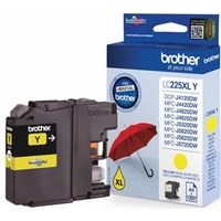 Brother LC225XLY high capacity yellow ink cartridge original