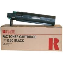 Ricoh Type 1260D Black Toner Original