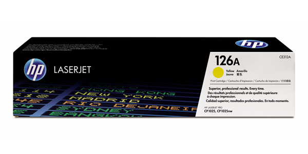 HP 126A yellow toner ORIGINAL - HP CE312A Original Toner