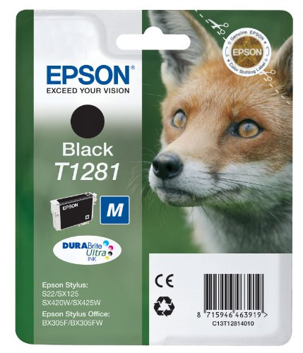 Epson T1281 Black Ink cartridge Original