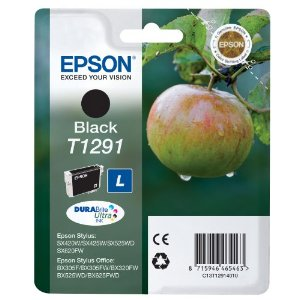 Epson T1291 Black Ink Cartridge Original