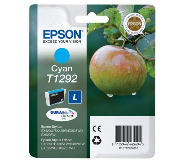 Epson T1292 Cyan Ink Cartridge Original
