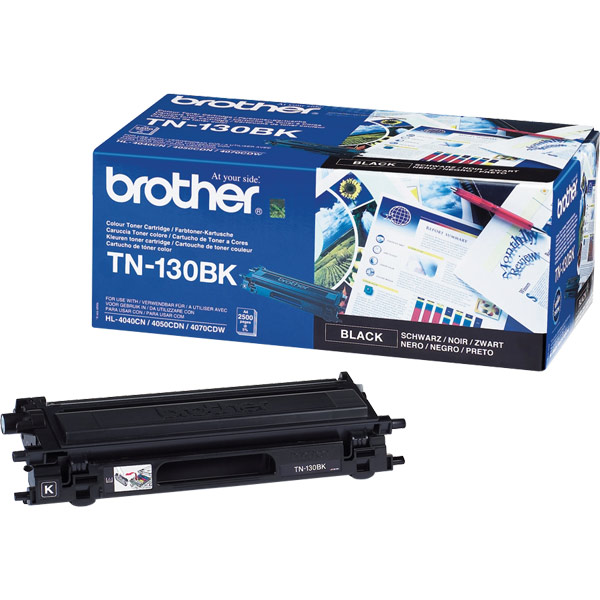 Brother TN-130BK  Black Toner Original