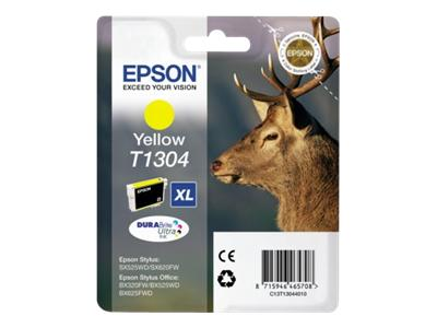 Epson T1304 Yellow Ink Cartridge High Cap Original