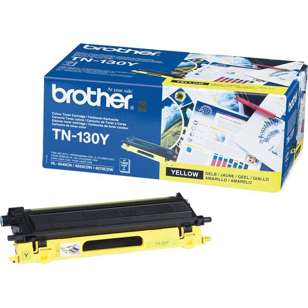 Brother TN-130Y Yellow Toner Original