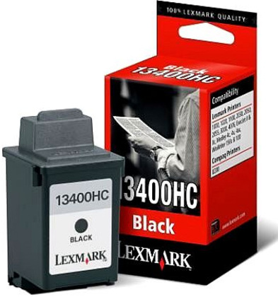 Lexmark 13400HC Black Ink Cartridge Original