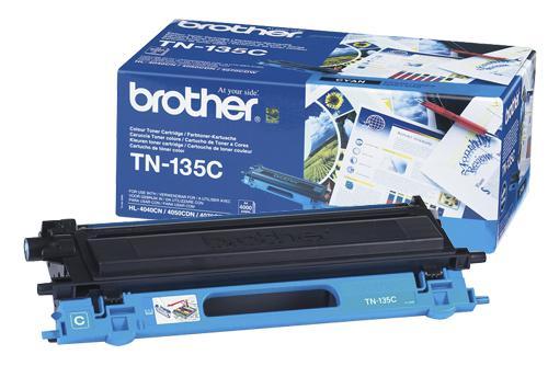 Brother TN-135C Cyan Toner Original High Yield