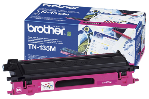 Brother TN-135M Magenta Toner Original High Yield