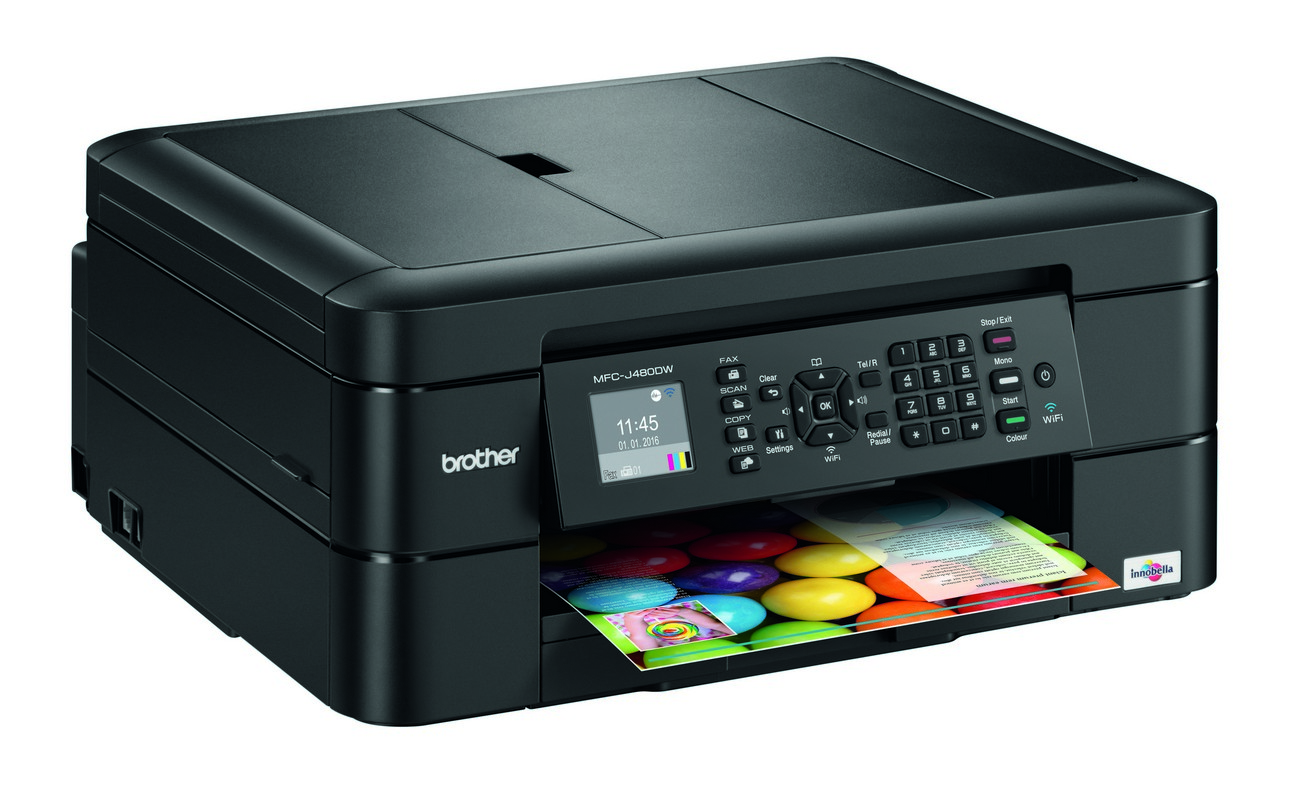 Brother DCP-J572DW All-In-One Inkjet Printer