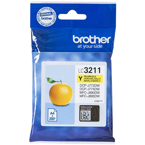 Brother LC-3211Y yellow ink cartridge original