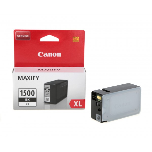 Canon PGI-1500BK XL high capacity black ink cartridge Original