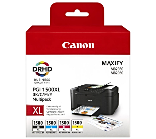 Canon PGI-1500CXL 4 Pack high capacity Ink cartridges Originals