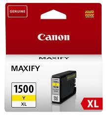 Canon PGI-1500Y XL high capacity yellow ink cartridge original