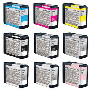 Epson T157 series 9-pack Compatible Inks