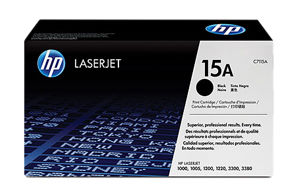 HP 15A Black Toner Original - HP C7115A Black Toner Original