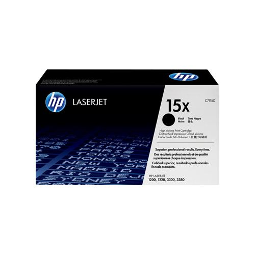 HP 15X C7115X black high-cap toner original