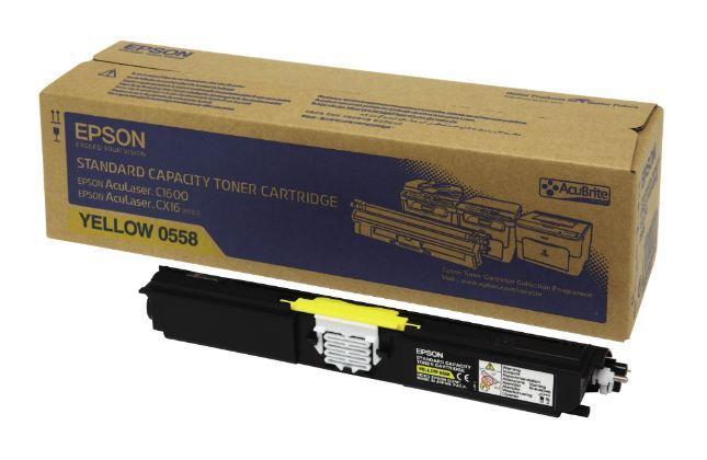 Epson AcuLaser C1600 - Epson Aculaser CX16 Yellow Original