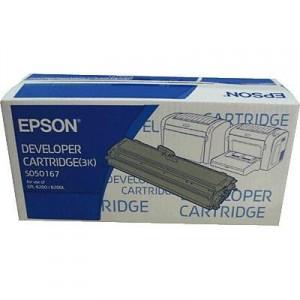 Epson S050167 black toner ORIGINAL